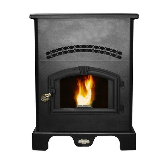 US Stove 5500 Multi-Fuel Stoves Pellet Stove, 48,000 BTU