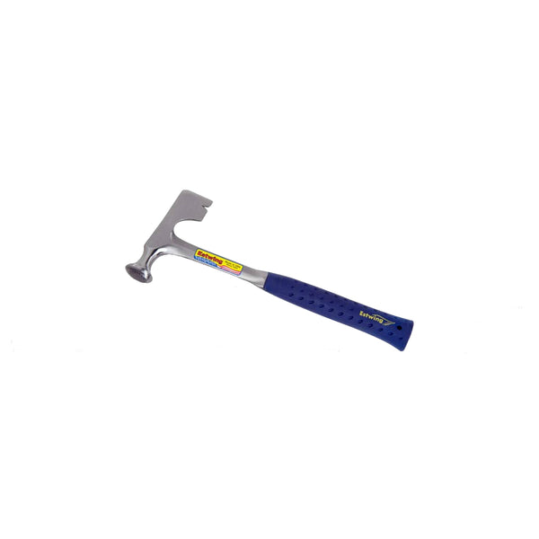 Estwing® E3-20C Curved Claw Solid Steel Hammer, 20 Oz, 13.5""