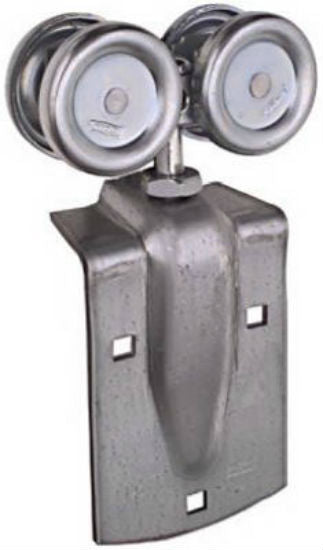 National Hardware® N112-102 Trolley Hanger, Zinc Plated, 2-Pack