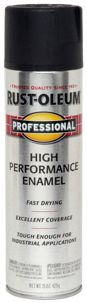 Rust-Oleum® 239107 Performance Protective Enamel, 15 Oz, Semi-Gloss Black