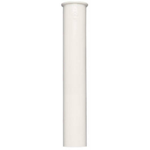 "Keeney® 10-12WK Plastic Sink Tail Piece, 1-1/2"" x 12"", White"