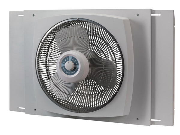 Lasko W16900 Electrically Reversible 3-Speed Window Fan, Satin White, 16""