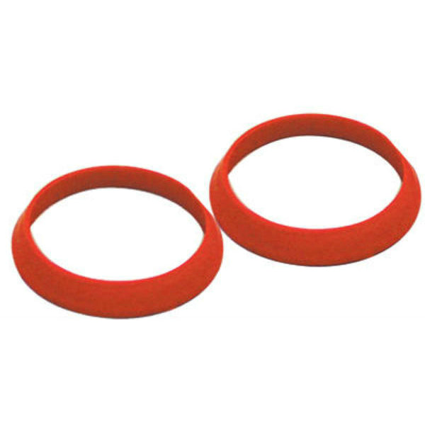 "Keeney® 50915K Rubber Slip Joint Beveled TPR Washer, 1-1/4"", 2-Pack"