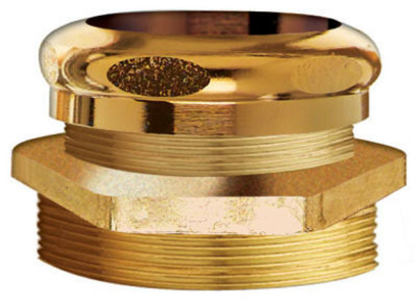 "Keeney® 1120K Rough Brass Male Waste Connection, 1-1/4"" SPS x 1-1/4"" O.D."