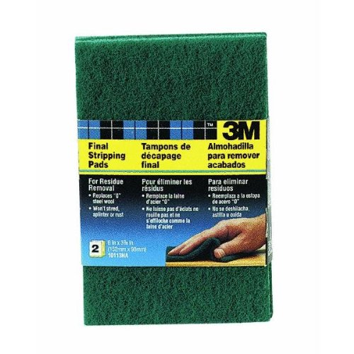 3M 10113 Final Stripping Pads, 2-Pack