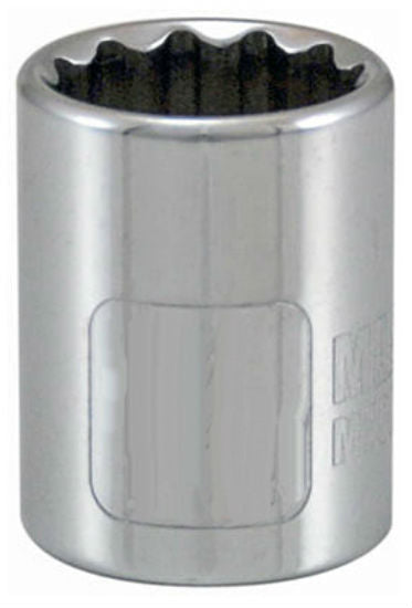 "Master Mechanic 105031 12-Point Socket, 3/8"" Drive, Chrome Vanadium Steel"
