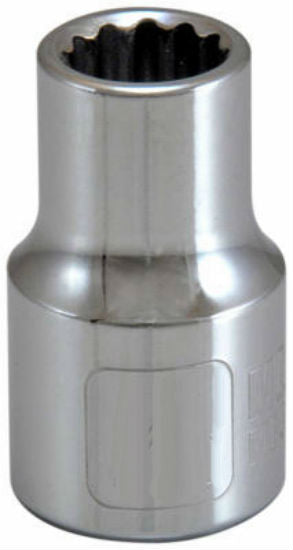 "Master Mechanic 105346 12-Point Socket, 1/2"" Drive, 7/16"""