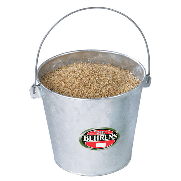 Behrens 1522 Hot Dipped Stable Pail with Reinforced Handle, 22 Qt