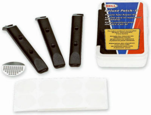 Bell 1007090 Deluxe Tire Patch-It Kit, Fixes Flats Without Glue