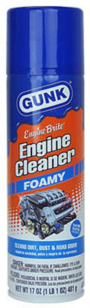 Gunk® FEB1 Engine Brite Foamy Engine Cleaner, 17 Oz