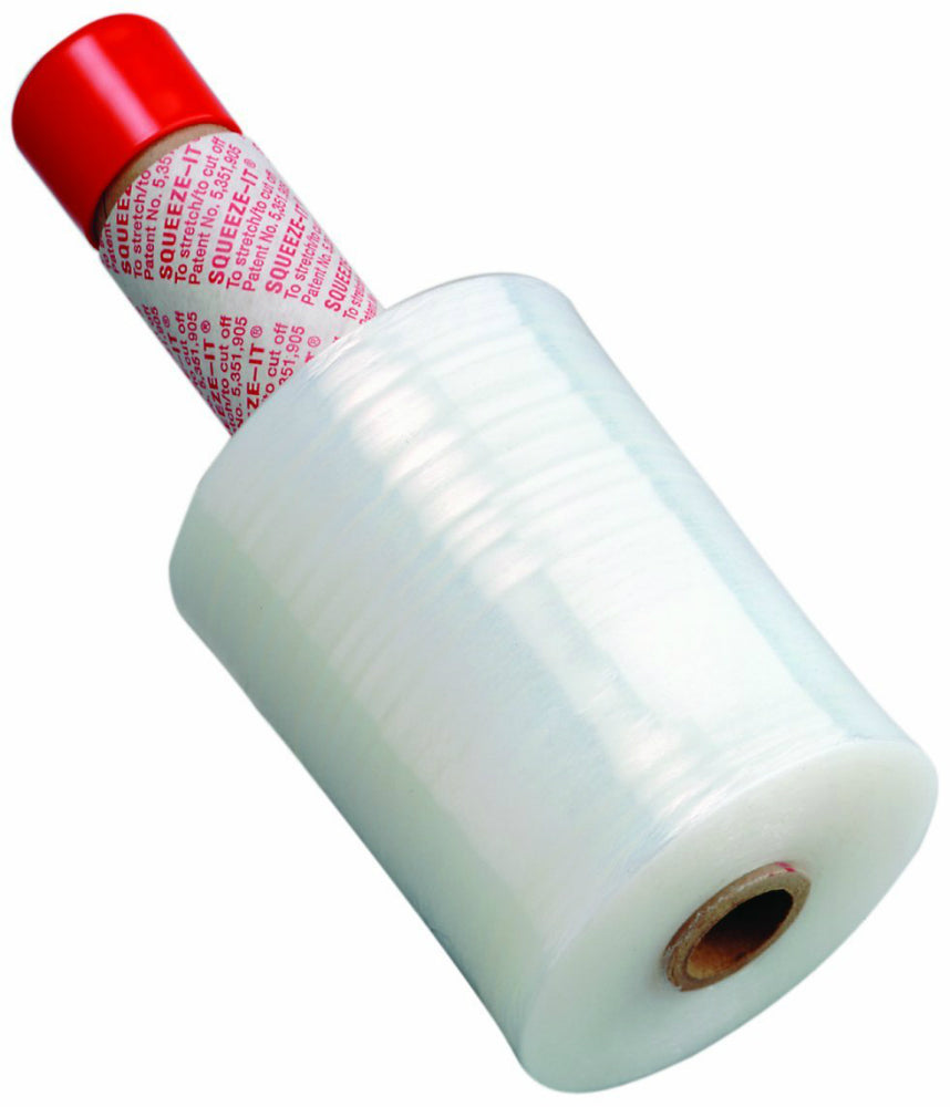 "Nifty® ST-51 Wrapper with Cast Stretch Film & Dispenser, 80-Gauge, 5""x1000'"
