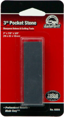 "Gator 6050 Pocket Sharpening Stone, 3"" x 7/8"" x 3/8"""