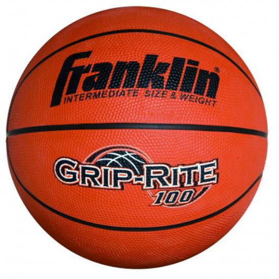 Franklin 7152 GRIP-RITE® 100 Rubber Intermediate Size Basketball