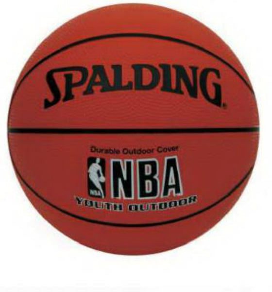 Spalding® 63-306 NBA Varsity Youth Outdoor Basketball, Size 5, 27.5""
