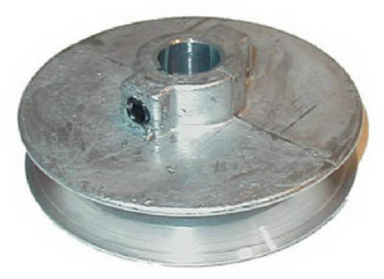"Chicago Die Casting 300A7 Single V-Groove Die Cast Pulley, 3/4"" x 3"""