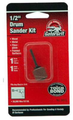 "Gator 6070 Sanding Drum Kit, 1/2"" x 1/2"""
