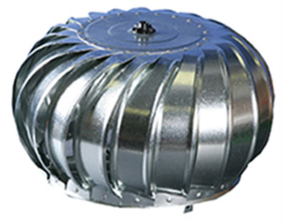 "Air Vent 52606 Internally Braced Wind Turbine Head, 12"", Mill"
