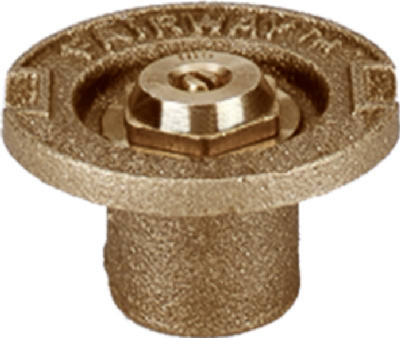"Champion Irrigation 17SH/11002 Half Circle Flush Sprinkler Head, 1-1/2"", Brass"
