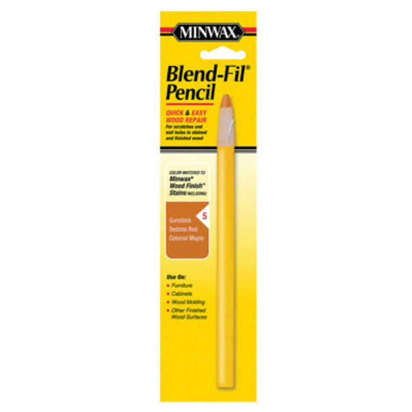 Minwax®11005 Blend-Fil® Pencil for Quick & Easy Wood Repair, #5