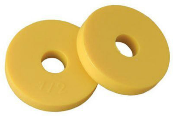 "BrassCraft SCB2103 Flat Faucet Washer 3/4"" O.D. Yellow, 10 Pack"