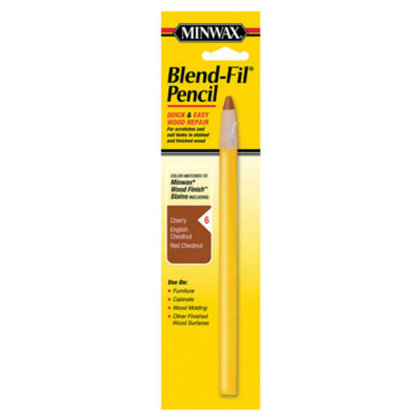 Minwax® 11006 Blend-Fil Pencil for Quick & Easy Wood Repair, #6