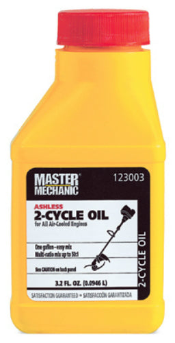 Master Mechanic 123003 Multi Purpose 2-Cycle Oil, 3.2 Oz