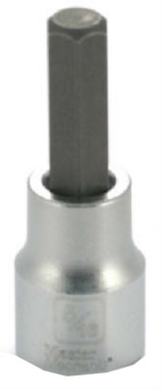 "Master Mechanic 123695 Hex Bit Socket, 3/8"" Drive, 5/16"""