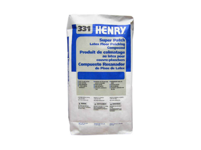 HERNY® 12051 Super Patch Latex Floor Patching Compound, #331, 25 Lb
