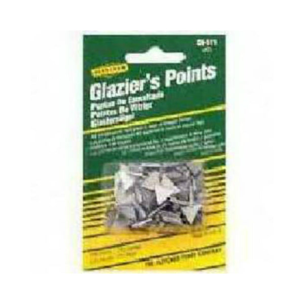 Fletcher 08-511 Triangle Glazier Points, #2, Zinc Coated
