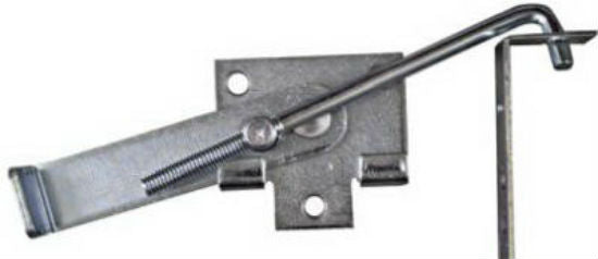 National Hardware® N161-760 Cam Action Jamb Latch, Zinc Plated