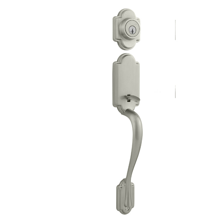 Kwikset 800ANXLL-15-SMT-CP Arlington Handleset w/Smart Key Rekeying,Satin Nickel