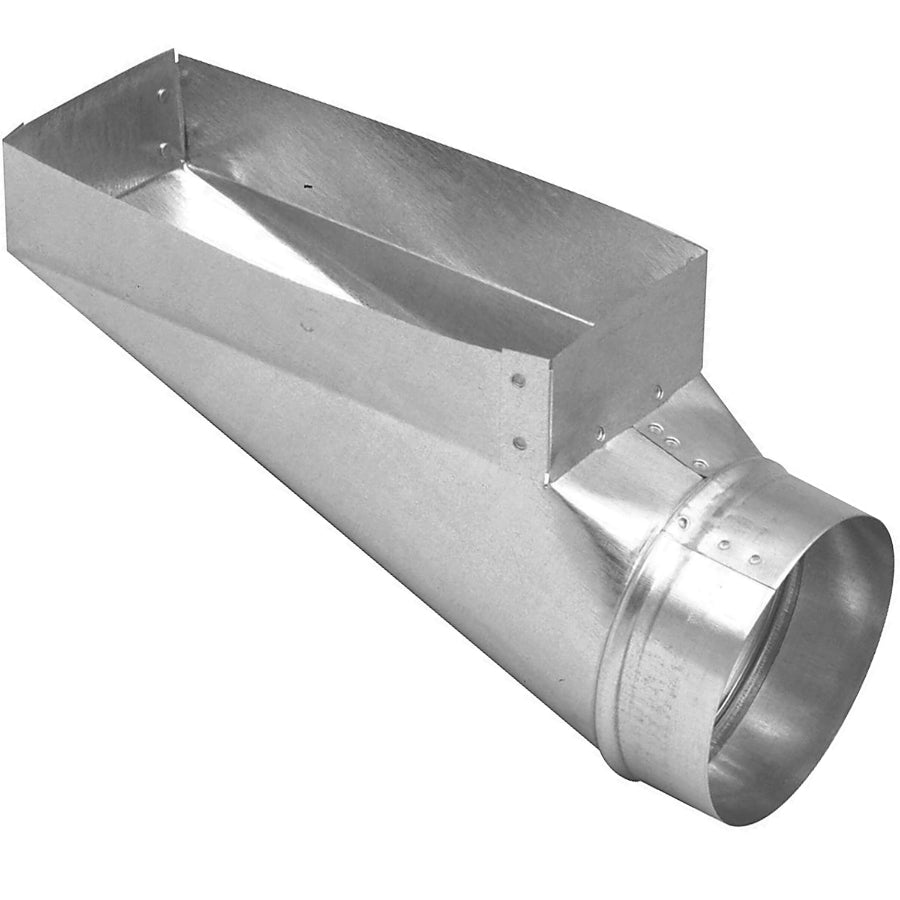 "Imperial GV0667-C Galvanized Register End Boot, 30-Gauge, 4"" x 10"" x 6"""