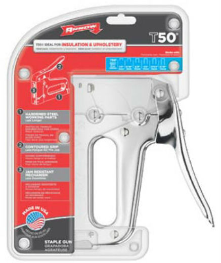 Arrow Fastener T50 Heavy Duty Staple Gun Tracker