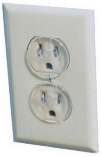 Safety 1St® 1711 Ultra Clear Outlet Safety Caps, 12-Pack