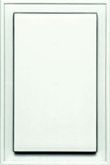 Builders Edge® 130120001123 Jumbo Mounting Block, White
