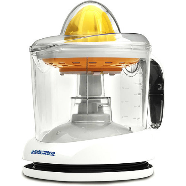 Black & Decker® CJ625 Citrus Juicer with Adjustable Pulp Control, White