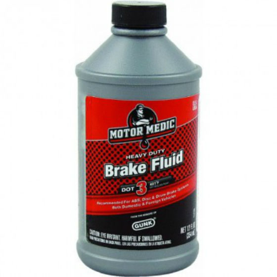 MotorMedic® M4412 Heavy Duty Brake Fluid, 12 Oz.