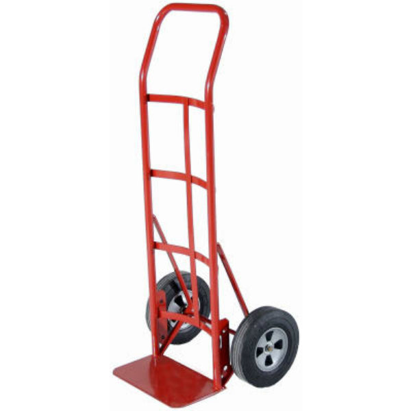 Milwaukee Hand Trucks 47107 Flow Back Handle Truck w/Solid Puncture Proof Tires