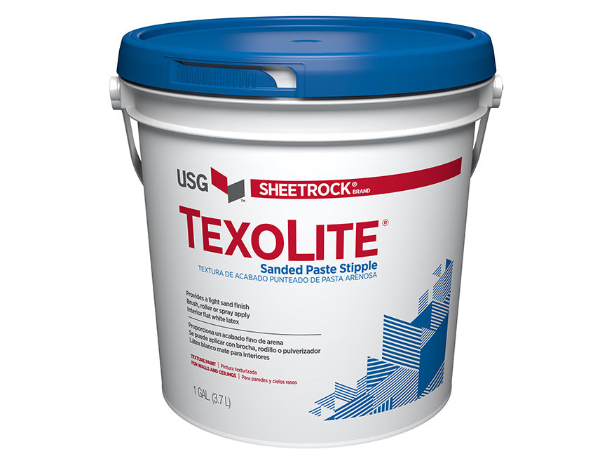 SHEETROCK 545600 Texolite Wall & Ceiling Texture Paint 1-Gallon, Sand