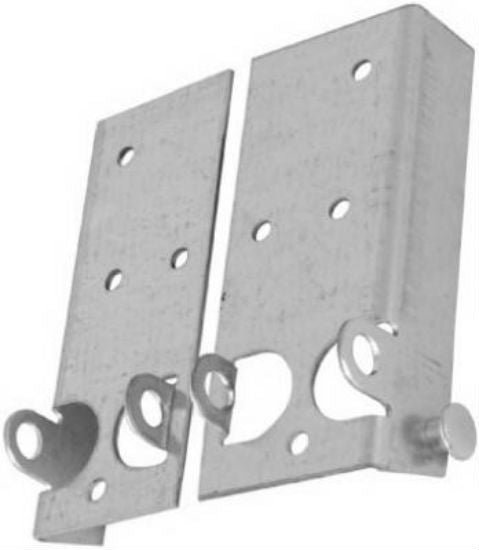 "National Hardware® N280-453 Bottom Lift & Roller Bracket, 5-11/16"", 2-Pack"