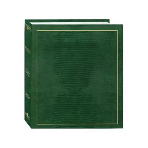 Pioneer Photo Albums LM100 Magnetic 3-Ring Photo Album, 100-Sides, Assorted