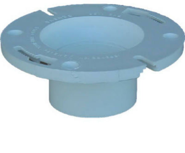 "Genova 65134 DWV Pop-Top Closet Flange, 3"" x 4"""