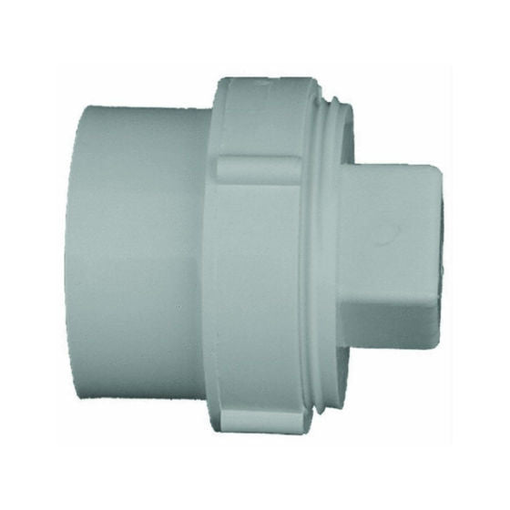 Genova 61630 DWV Schedule 30 Fitting Cleanout with Plug, 3""
