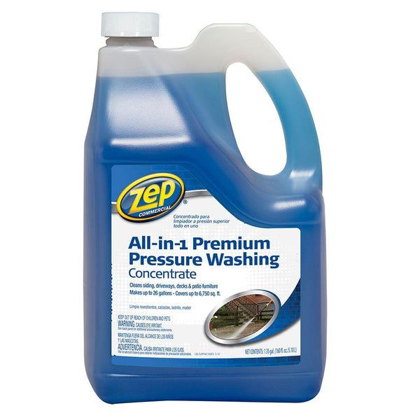 Zep Commercial® ZUPPWC160 All-in-1 Premium Pressure Washing Concentrate, 160 Oz