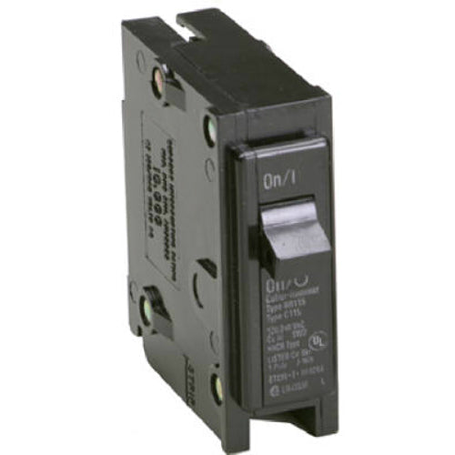 Eaton BR150 Single Pole Interchangeable Circuit Breaker, 50A