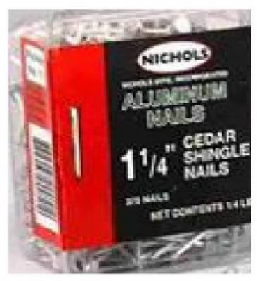 Aluminum Shingle Nail  1-1/4""