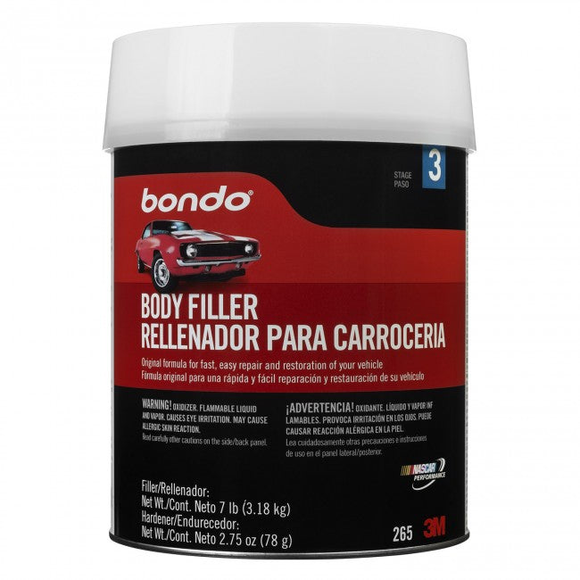 Bondo 265 Automotive Body Filler with Plastic Cap, 1 Gallon