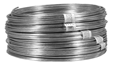 Hillman 123142 Galvanized Solid Weaving Wire, Single Coil, 100'