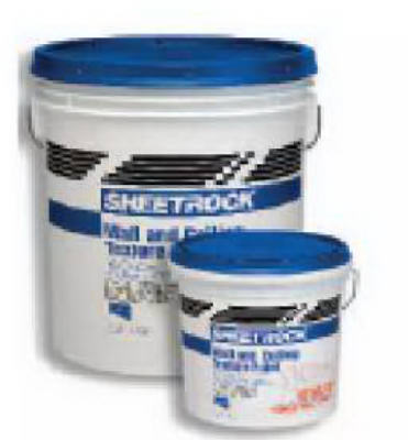 SHEETROCK 547023 Wall & Ceiling Texture Paint 1 Gallon, Sand Finish