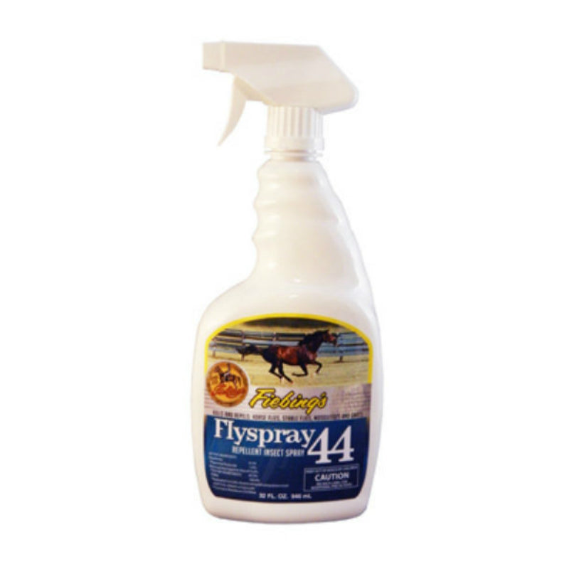 Fiebing's FLY400P032Z Flyspray 44 Repellant Insect Spray for Horses, 32 Oz